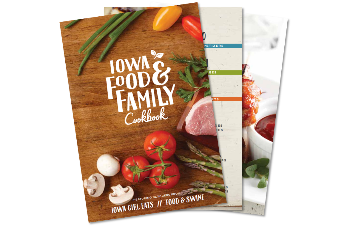 FREE COOKBOOK - Find a variety of our favorite family-friendly recipes featuring farm-grown ingredients!
