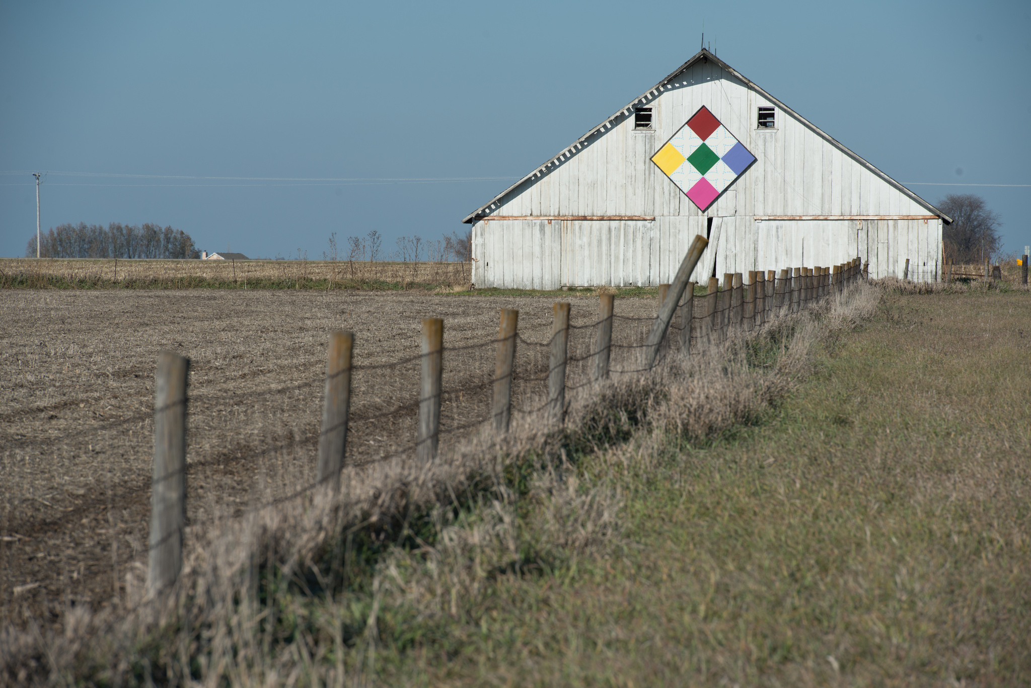 Floyd County and many other parts of the state are known for barn quilts.