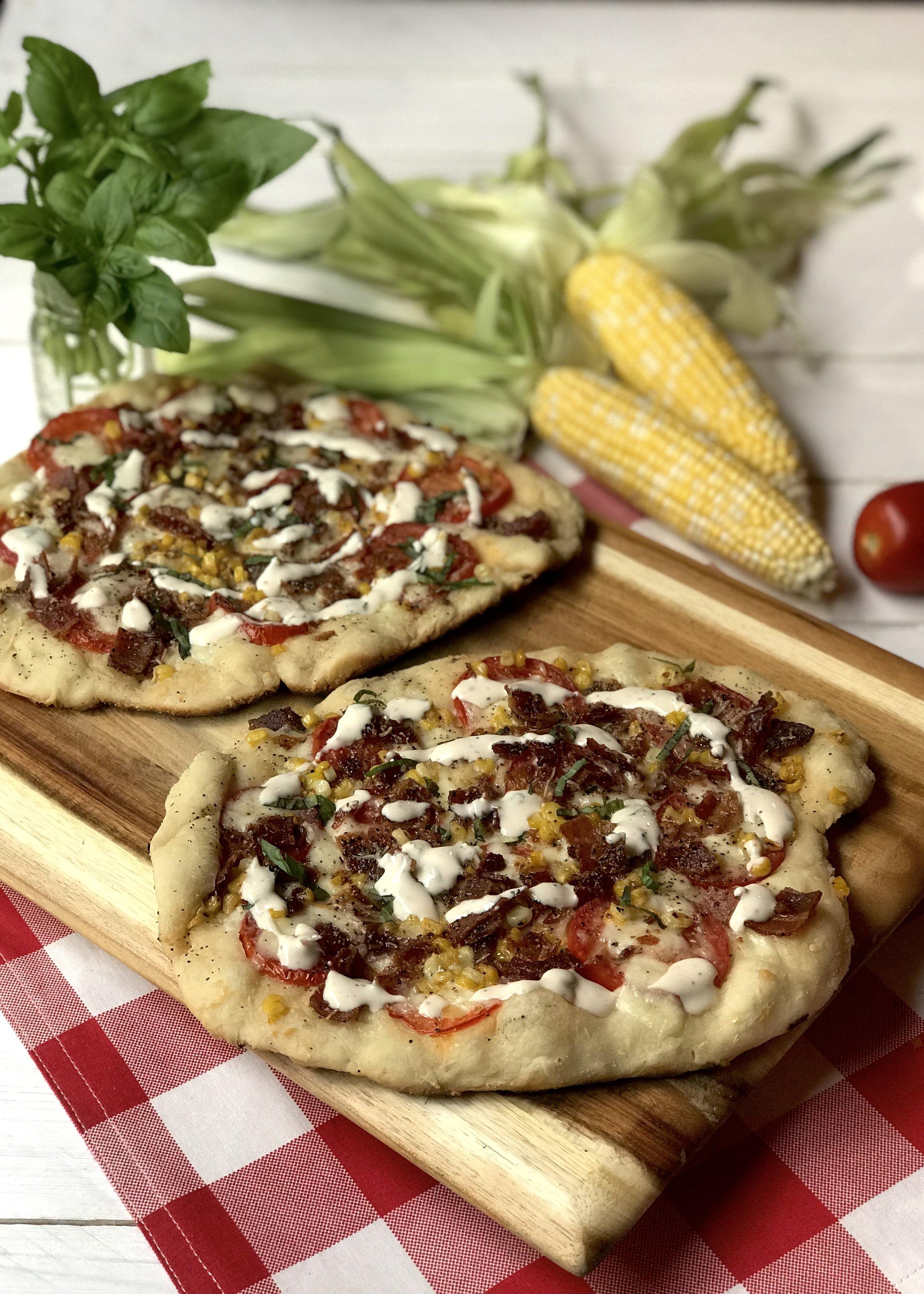 Iowa Summer Pizza. Photo credit: Anita McVey