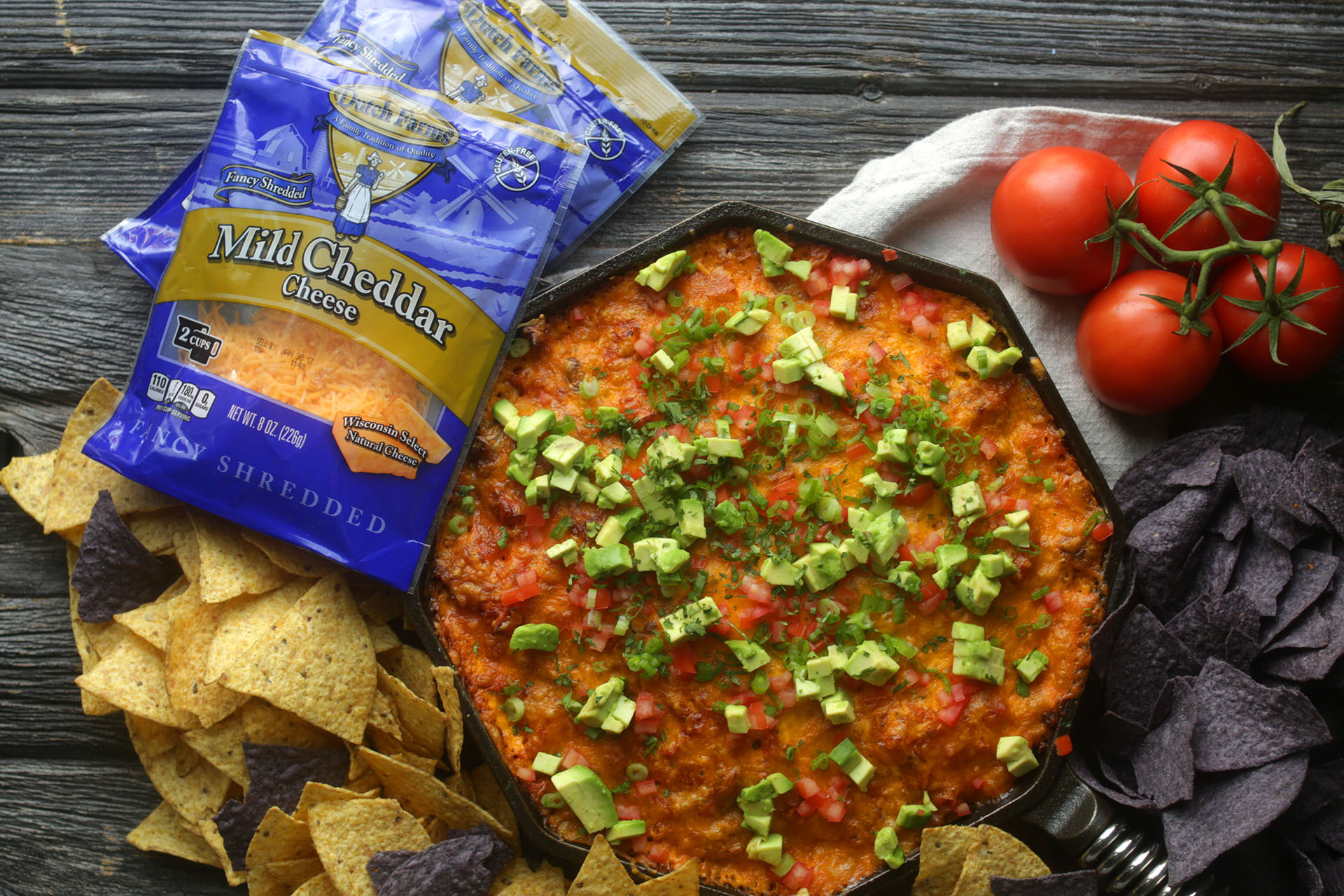 Chorizo Fundido Dip courtesy of Midwest Dairy