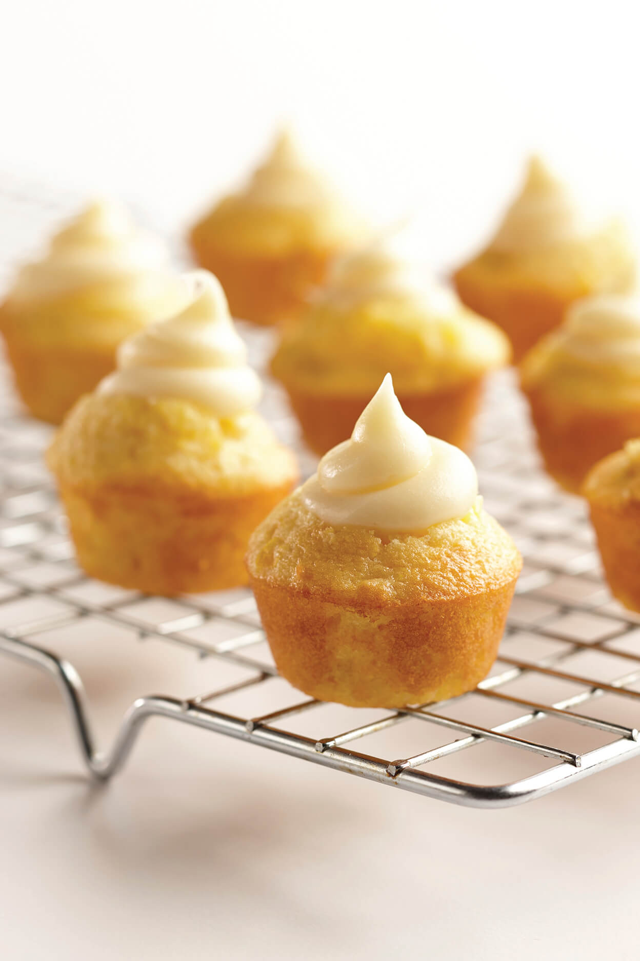 Mini Corn Muffin Thumbprints