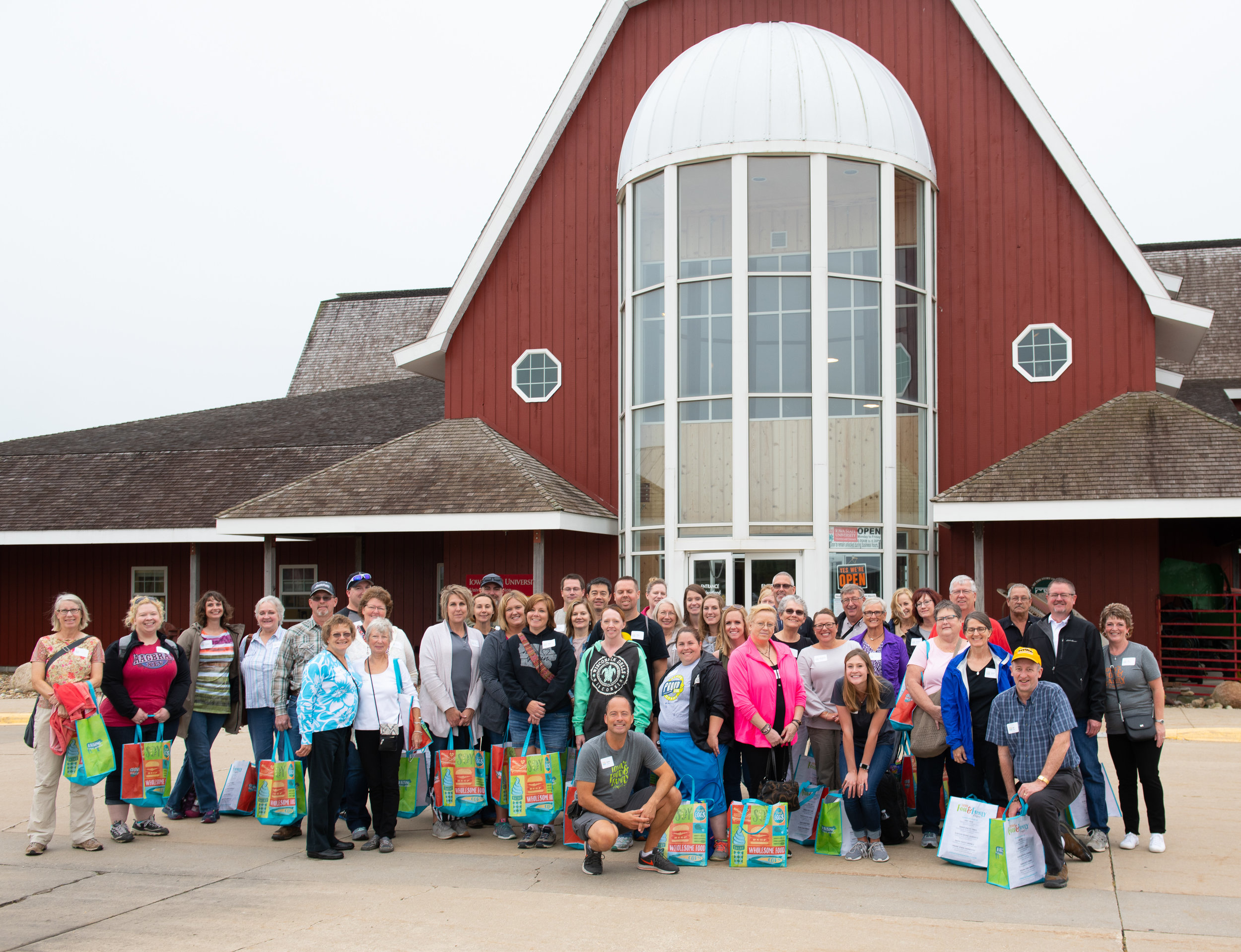 The event launched at Heartland Acres in Independence. The agribition center displays a diverse collection of agricultural tools and accomplishments. Photo credit: Joseph L. Murphy/Iowa Soybean Association