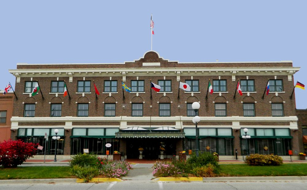 The Pattee brothers opened the hotel in 1913. It originally served as a stopping place for rail travelers. Photo credit: Hotel Pattee