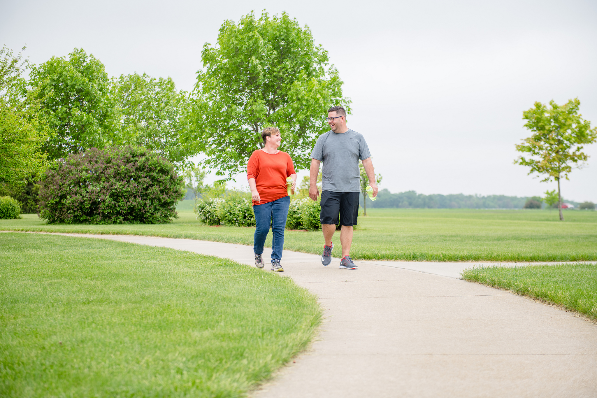 A study supported by the American Physical Therapy Association found light amounts of physical activity can have significant impacts on reducing the risk for cardiovascular disease. Photo credit: Joseph L. Murphy/Iowa Soybean Association