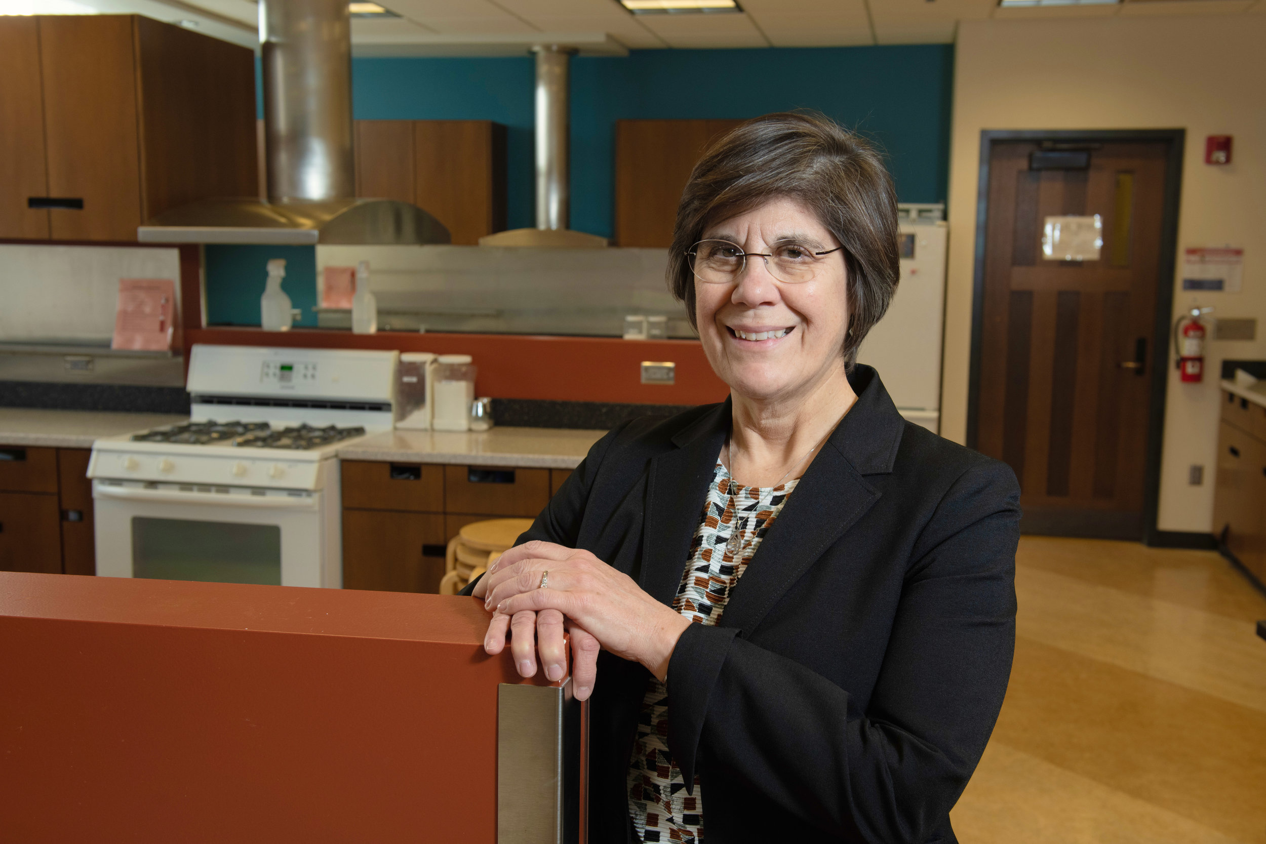 Dr. Ruth MacDonald works with students across the nutrition, dietetic, food science, culinary food science and nursing programs at Iowa State University. Photo credit: Joseph L. Murphy