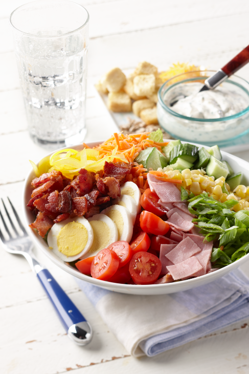 Classic Midwest Chopped Salad
