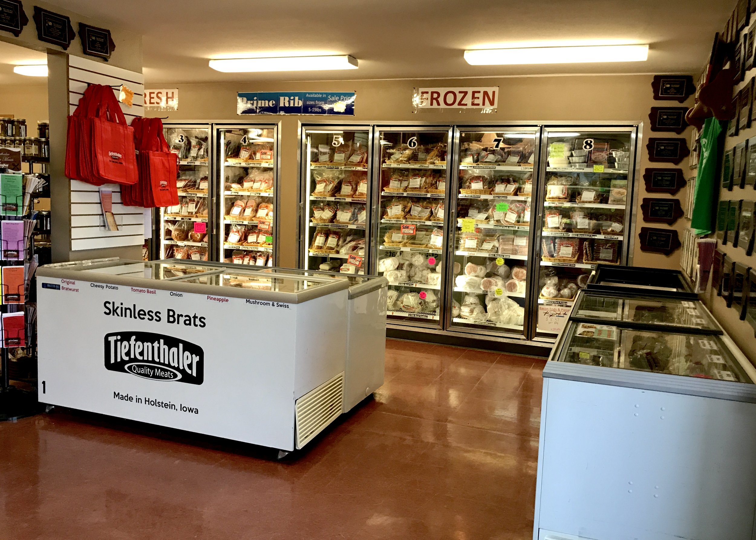 Tiefenthaler Quality Meats in Holstein is owned by John and Shelly Tiefenthaler. Photo credit: Anita McVey, Picnic Life Foodie