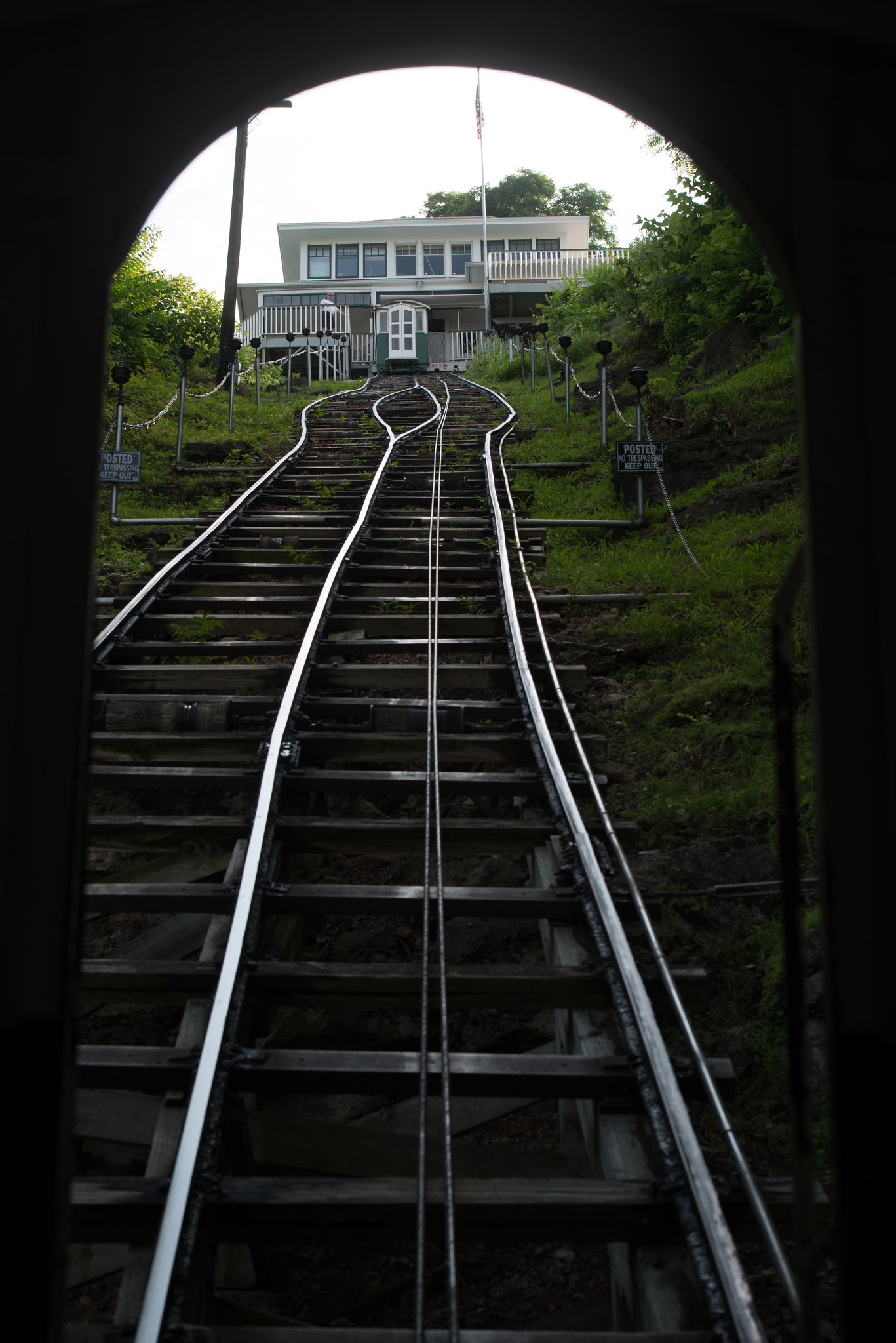 The Fenelon Place Elevator is described as the world's shortest, steepest scenic railway. Photo credit: Joseph L. Murphy/Iowa Soybean Association