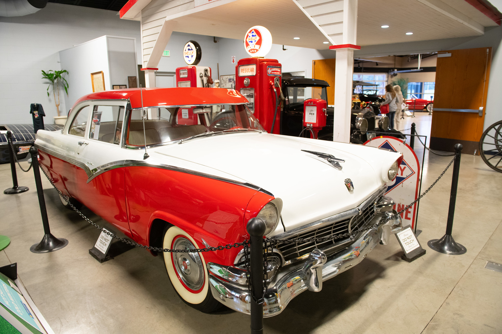 "Heartland Acres Agribition Center is home to a ""Cars of Yesteryear"" display. Photo credit: Joseph L. Murphy/Iowa Soybean Association"