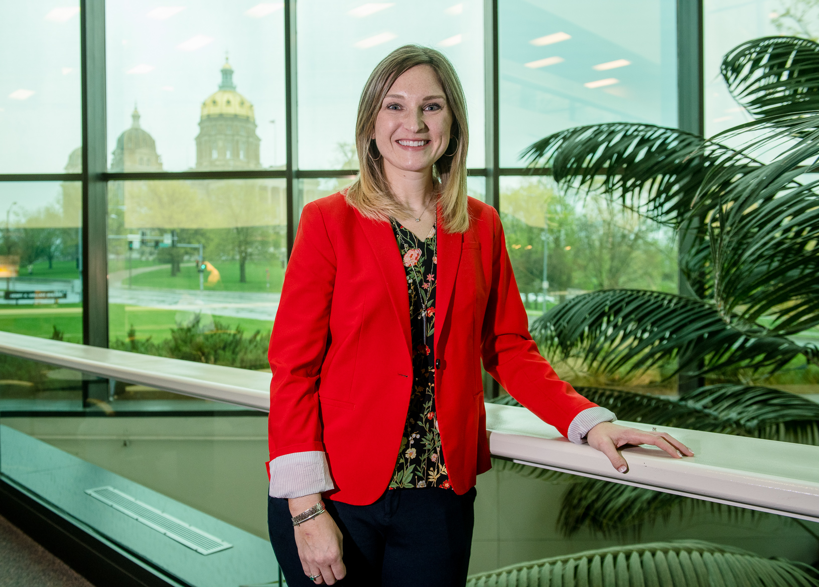 Julie Kenney is the Iowa Deputy Secretary of Agriculture. Photo credit: Joseph L. Murphy/Iowa Soybean Association