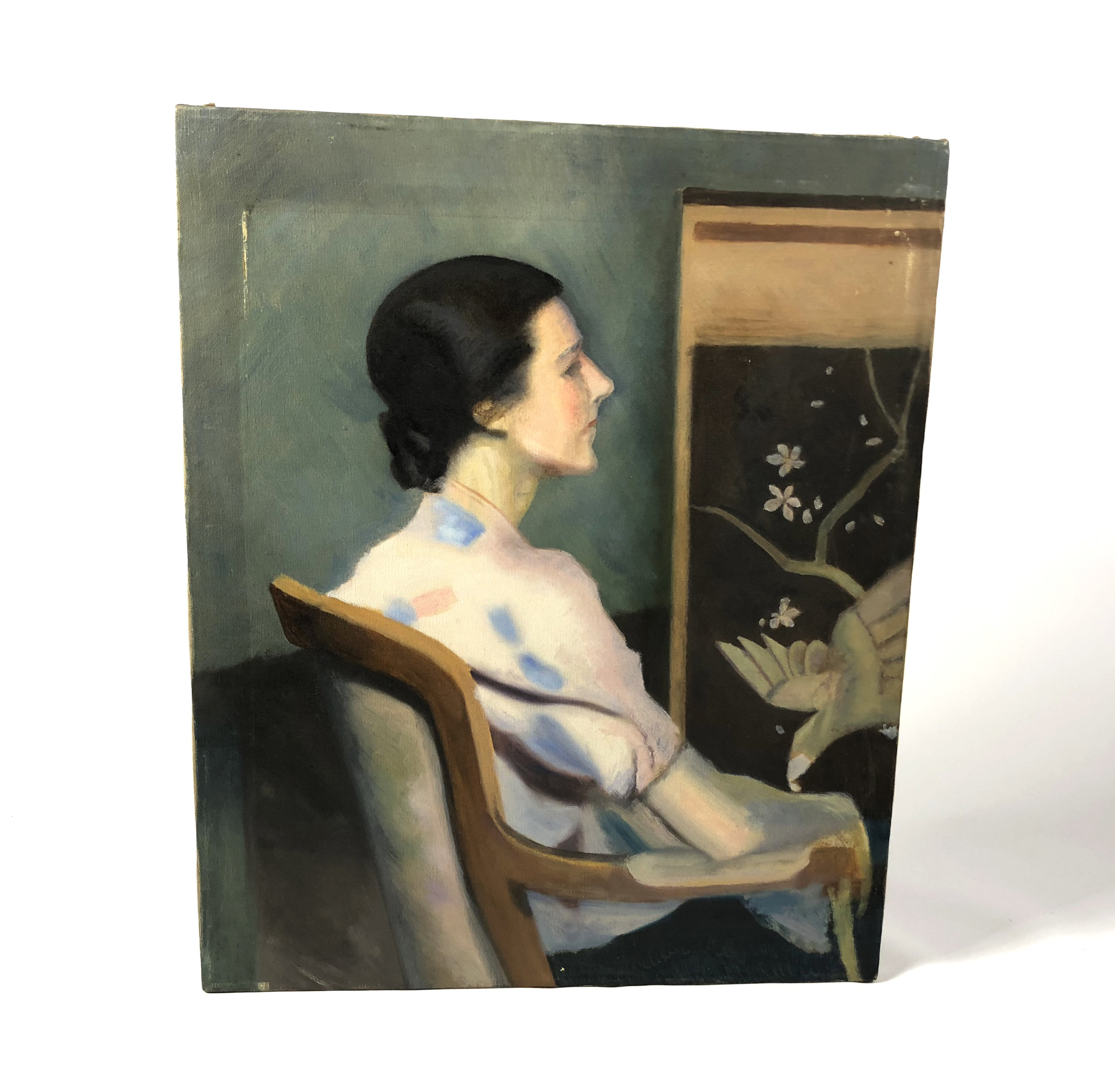 Woman at Easel