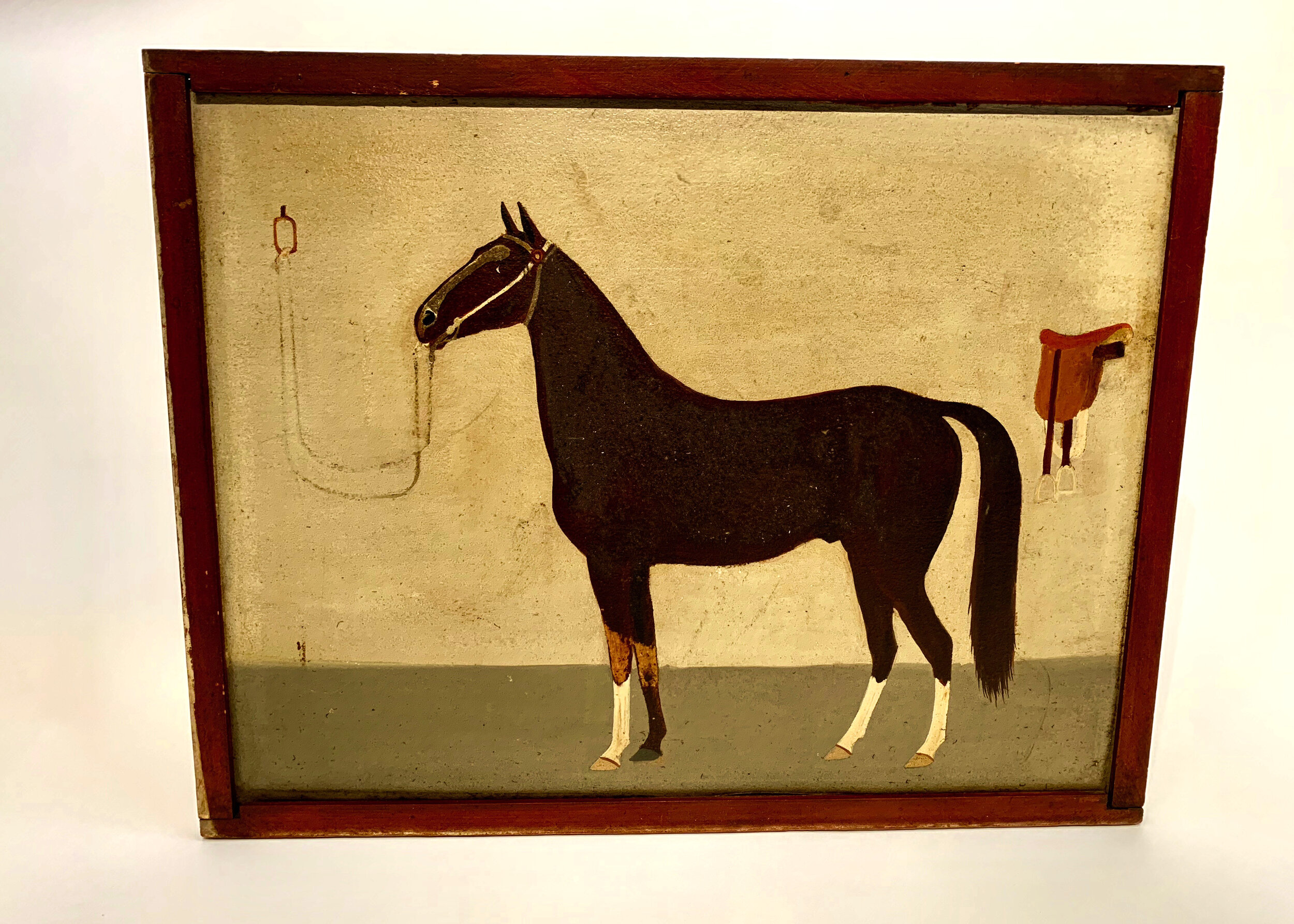 Primitive Saddlebred Horse, by Audrain McDonough