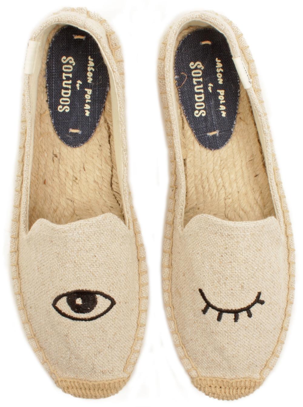 """Wink"" Slippers (cute & super comfy!)"