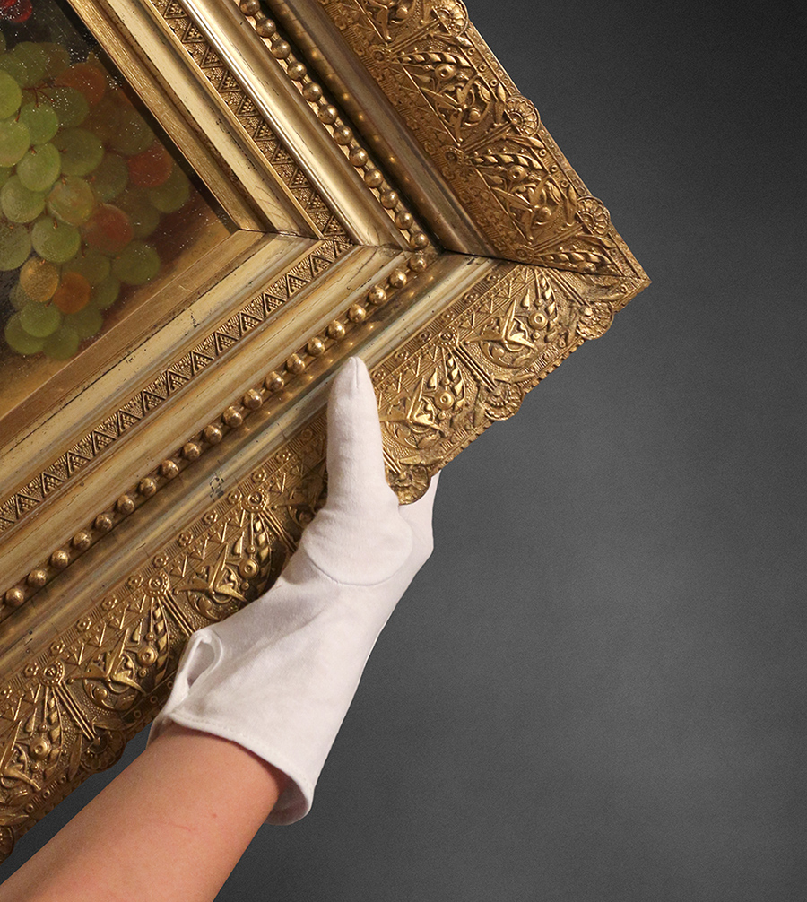 Safe and clean art removal prior to disaster