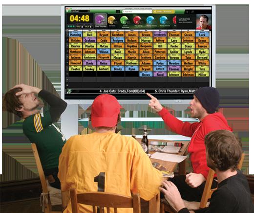 FanDraft Fantasy Football Draft Party