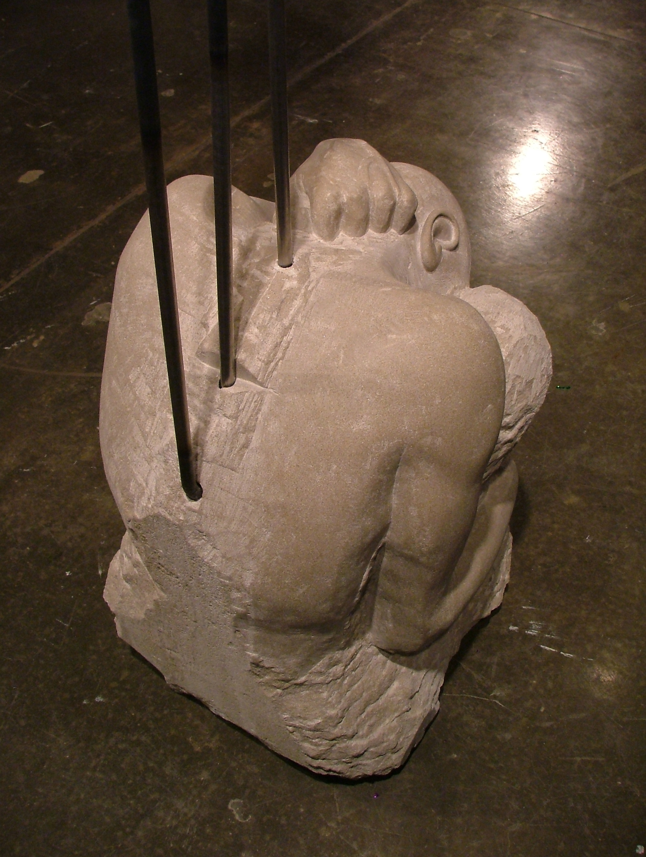 Born Laborer (detail)