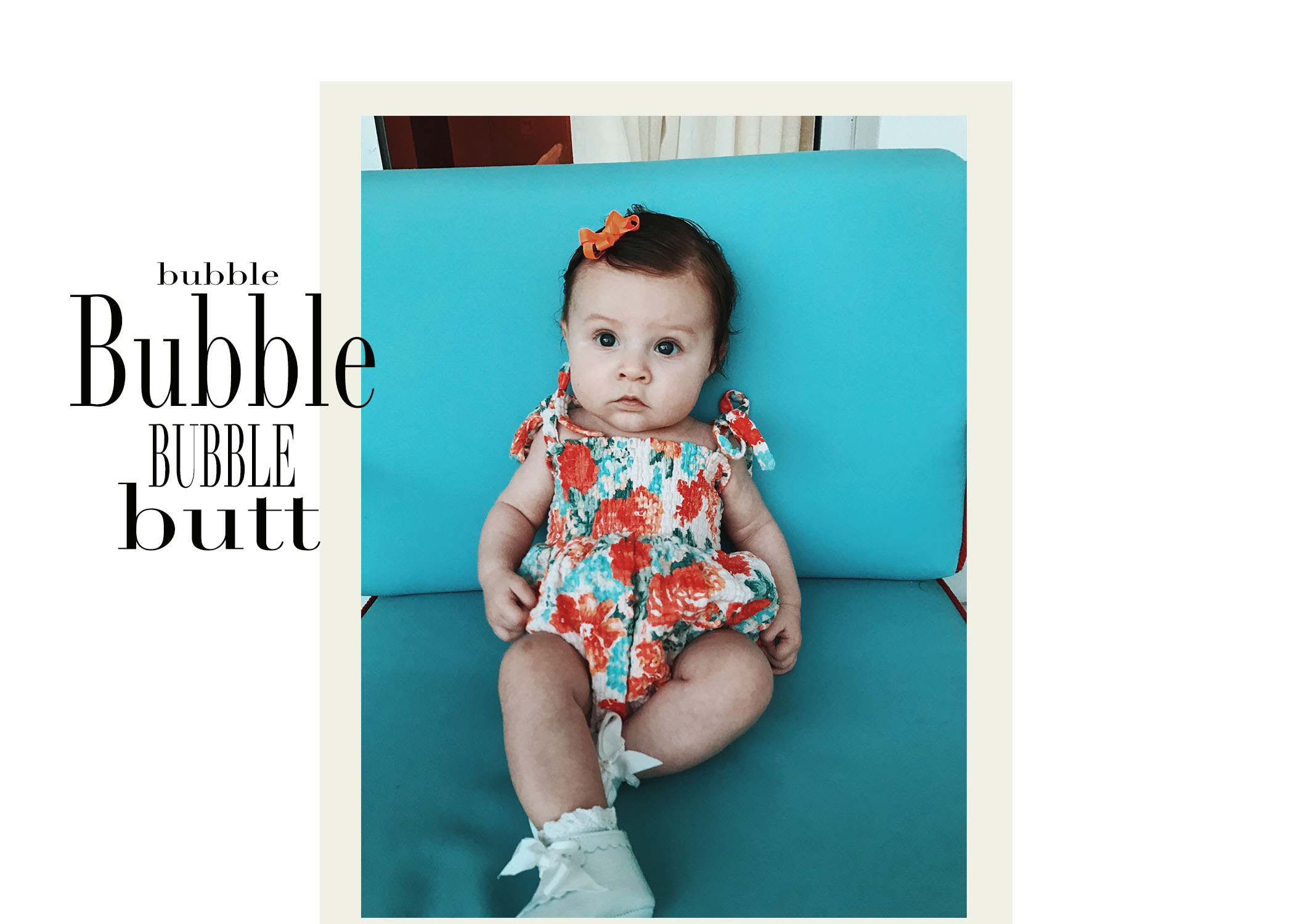 Bubble Suits Make Baby Legs Even Cuter. Period. - I'm a big believer in dressing a baby like a baby. There's this small window of time you have to show off those chunky leg rolls, cute little butts, and put those teeny feet on display! While I wish it were appropriate to wear an adult bubble suit, I think there's nothing more