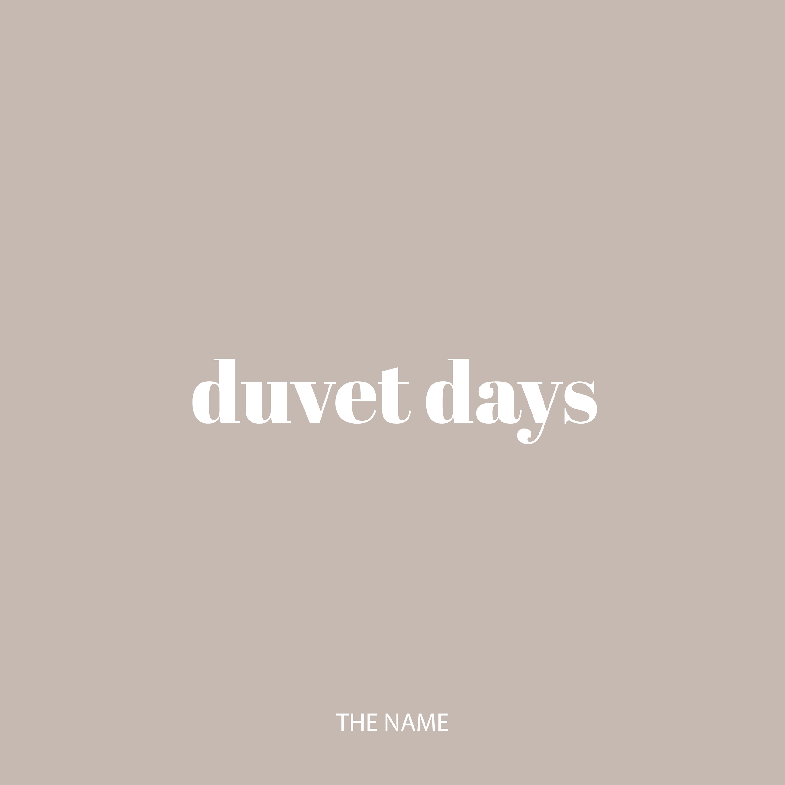 "A Duvet Day is a day off for personal well being. It's not a day to tend to an emergency, an errand, or even a sick day. It's a ""just because"" day. A day to practice kindness towards yourself, which should be simple, but in actuality, is one of the biggest challenges for survivors. A Duvet Day allows you to overcome all obstacles in self-kindness so you can learn to love yourself again, as well as others."