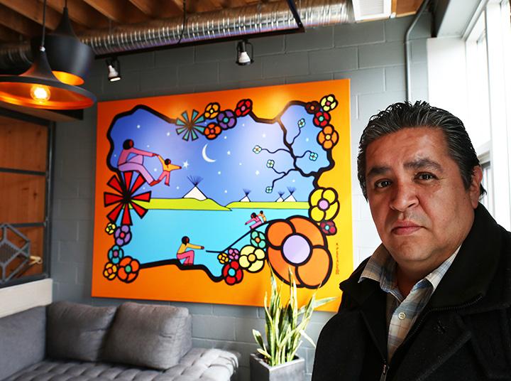 Shift Artist in Residence Kevin Peeace