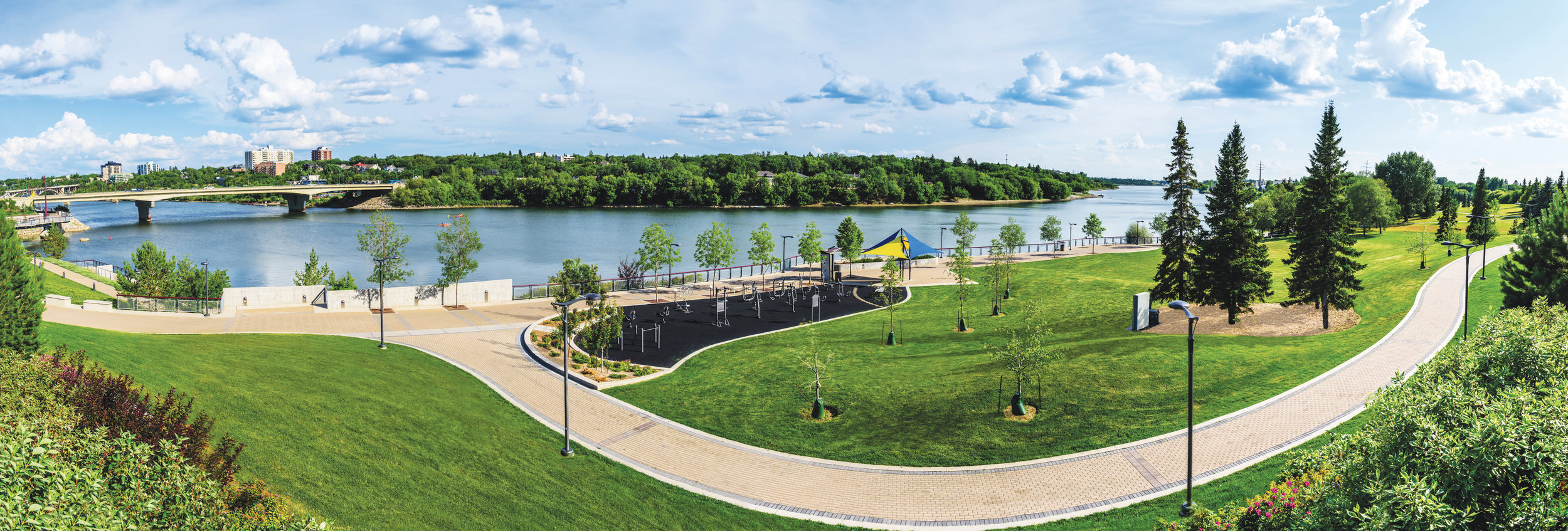 Victoria Park, The South Saskatchewan River and the MVA Trails are the connective tissue of this neighbourhood. No matter where you end up living in it, you have immediate access to this ecosystem, one that naturally leads you to the best amenities of Riversdale and Downtown.