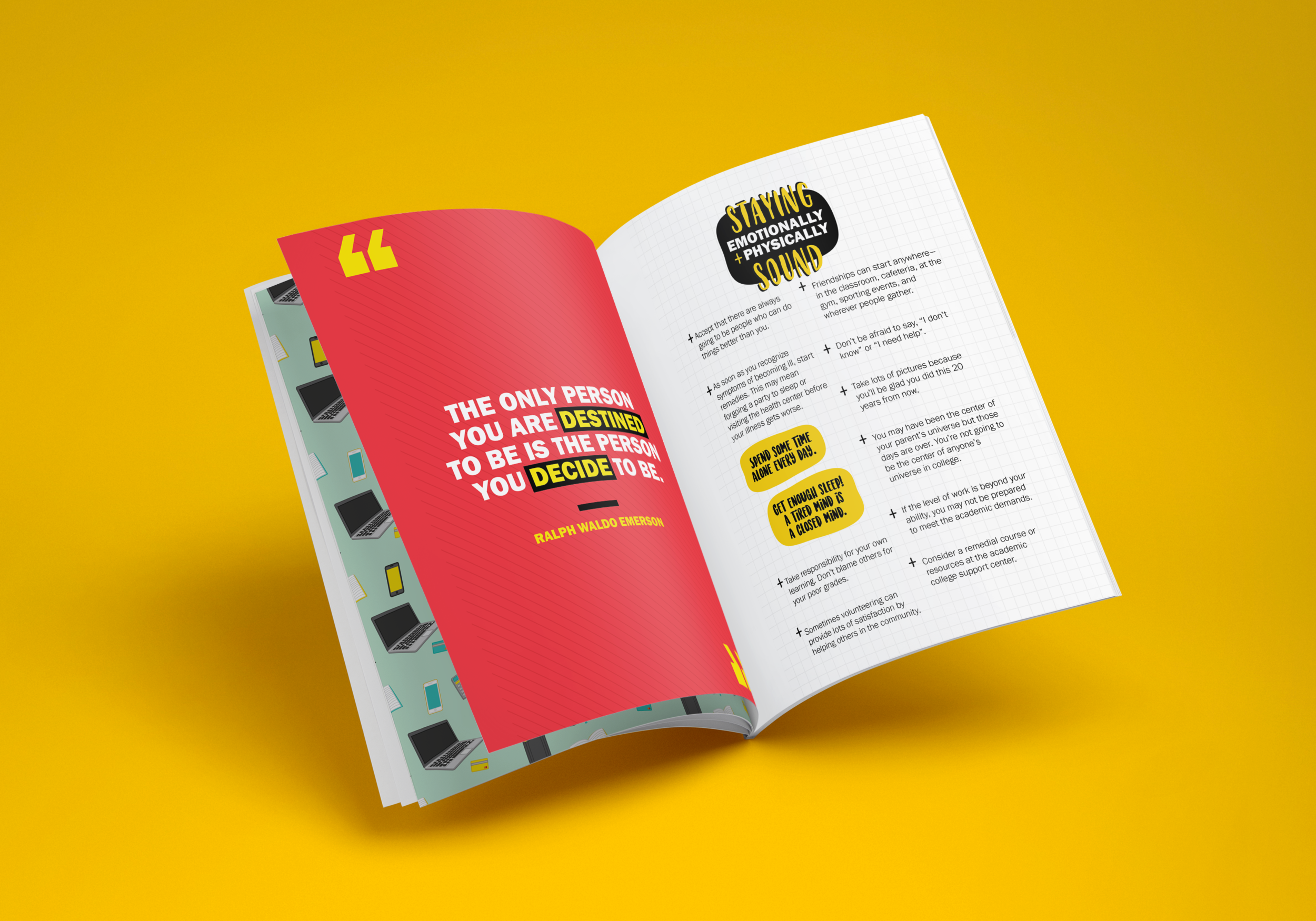 Making it to Graduation: Expert Advice from College Professors (Taking on the Challenge)   Book Design and Layout