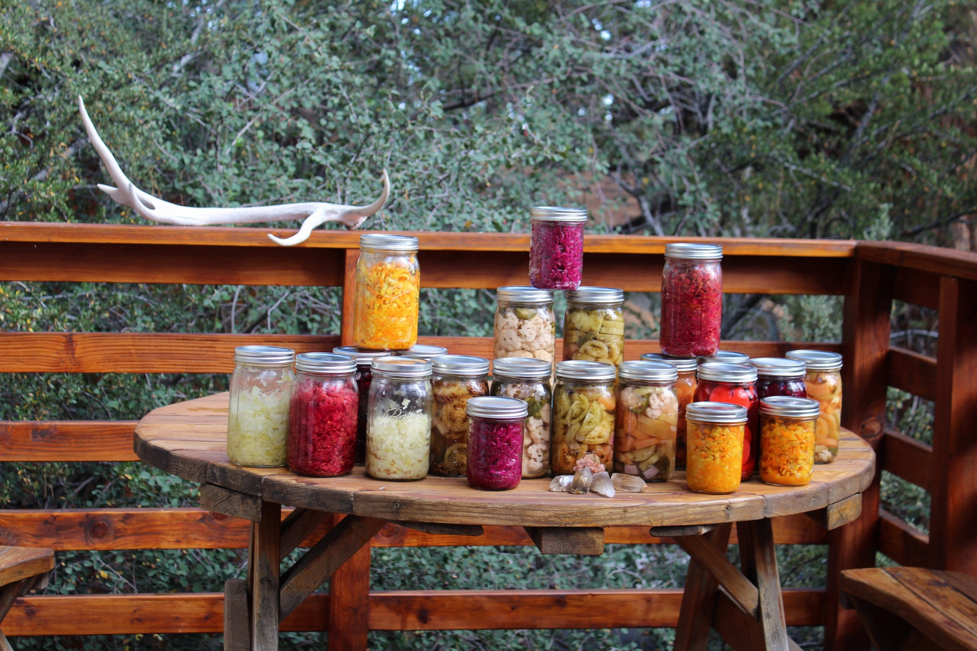 pickling / sourkrauting / canning / TRADES TRADES TRADES