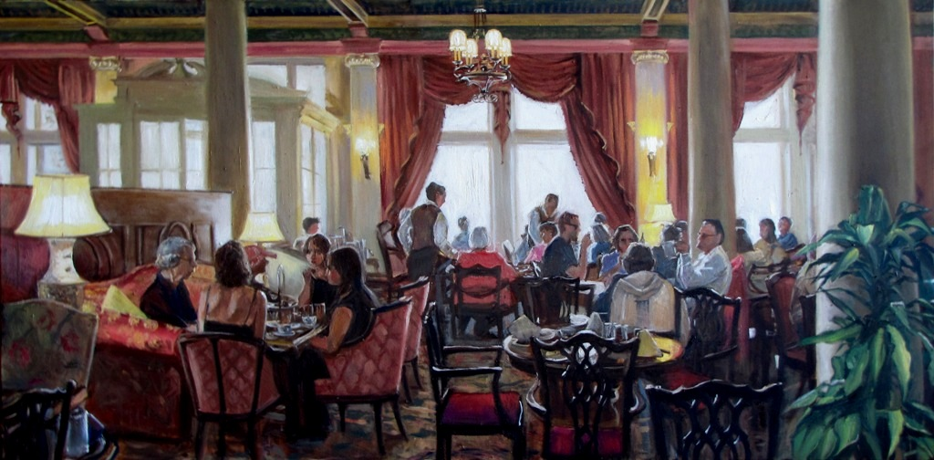 The Tea Lobby