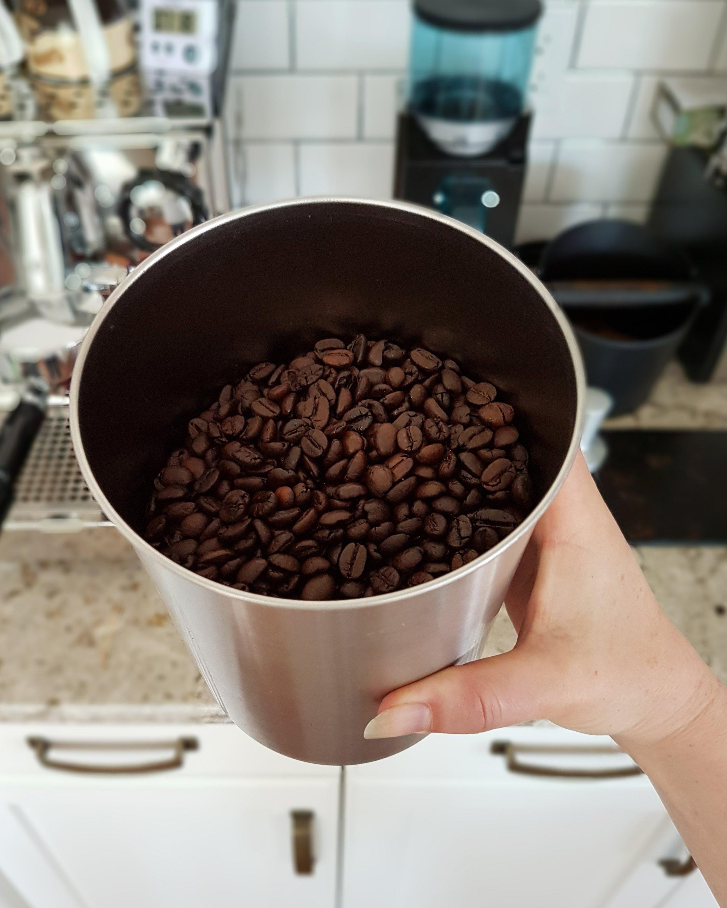 roast green coffee beans Saskatoon