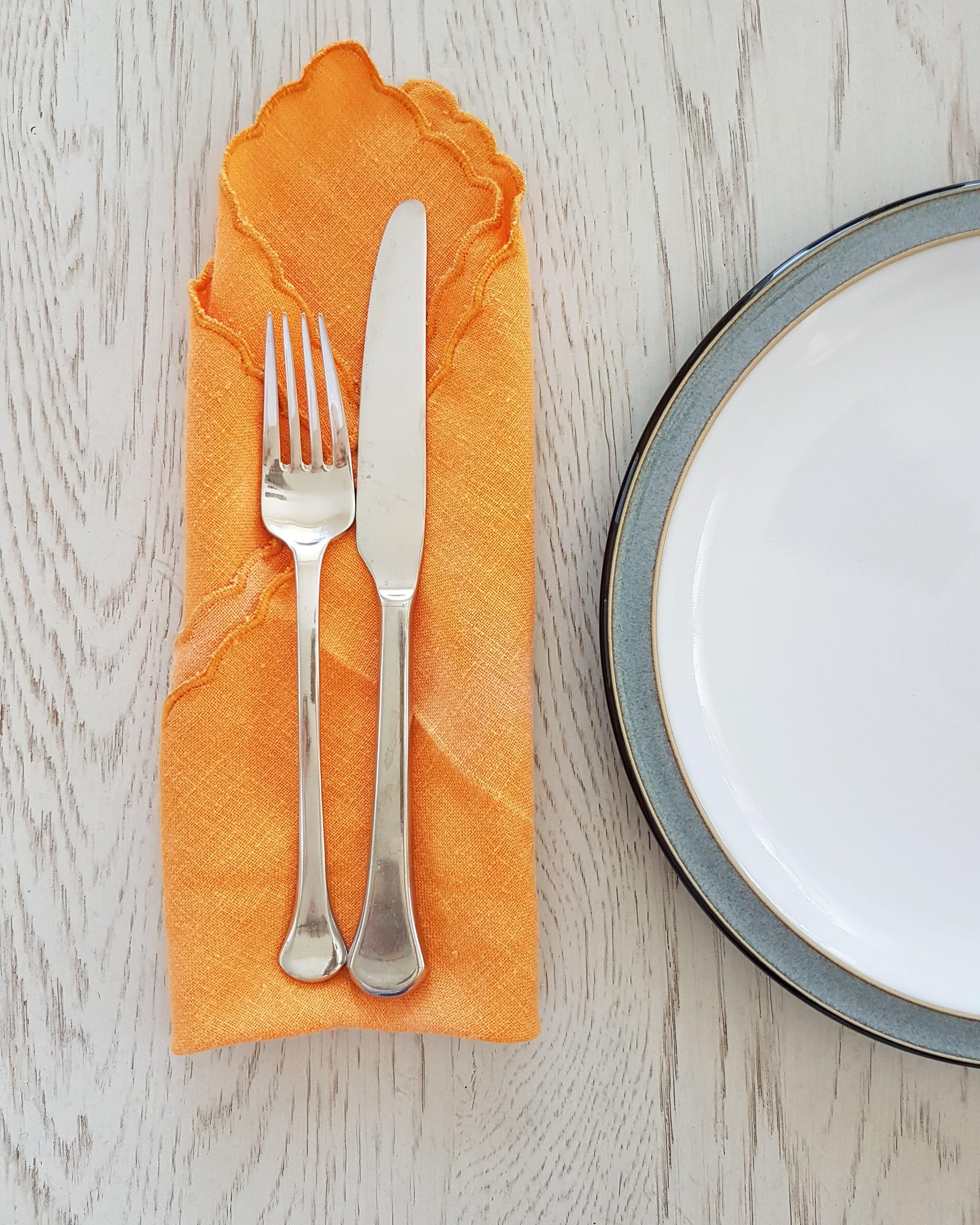 elegant cloth napkins waste less