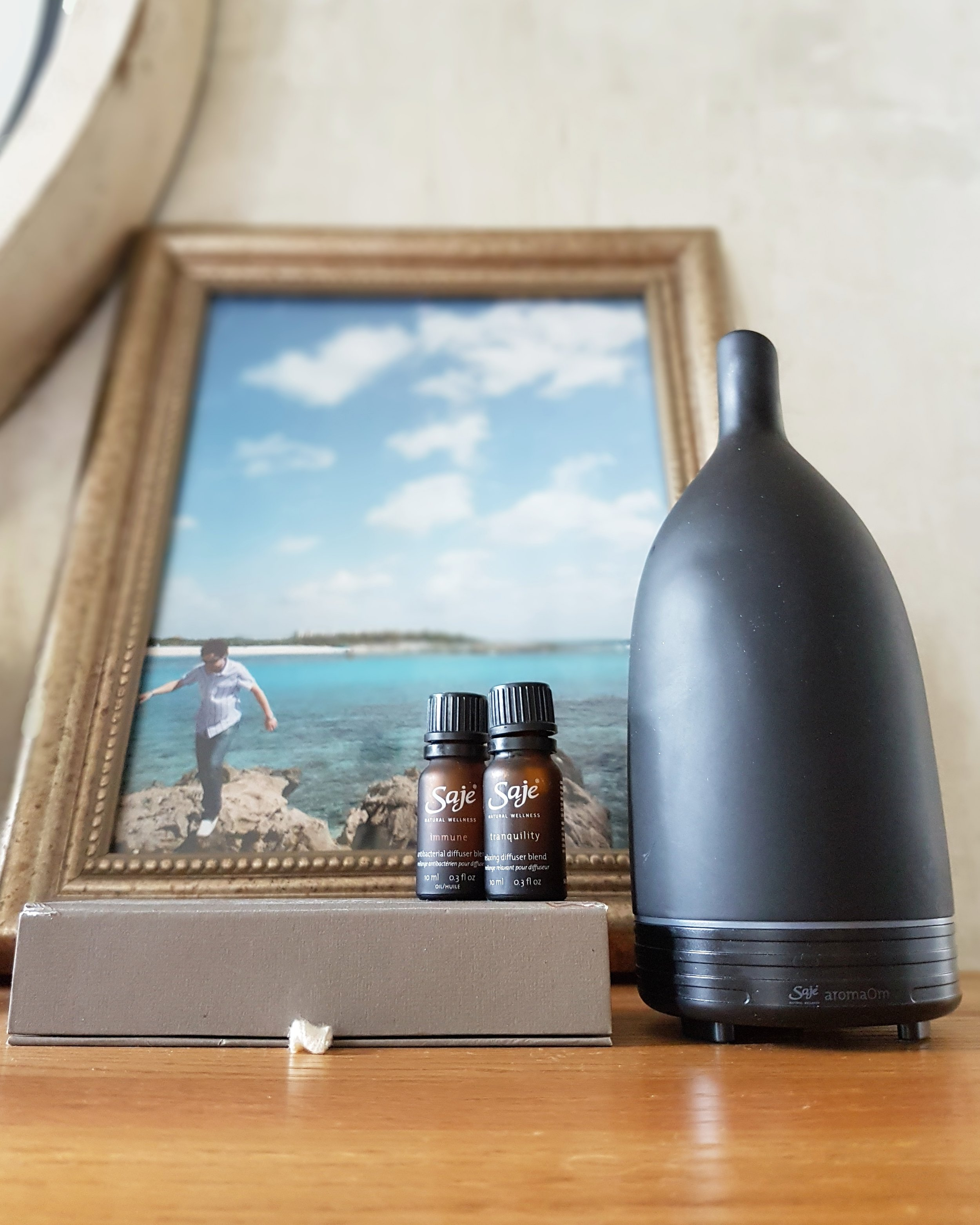 saje diffuser namaste essential oils review