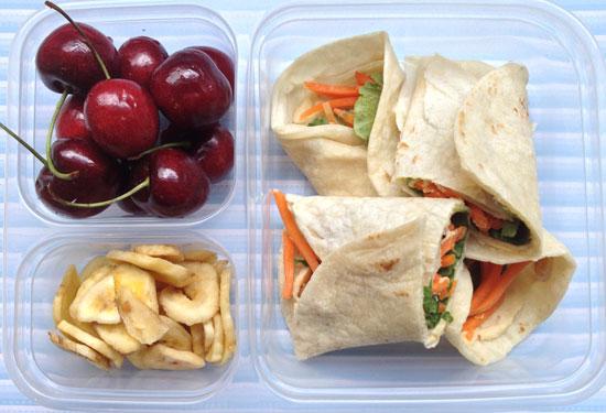 vegetarian lunchbox ideas for kids hummus wraps.jpg