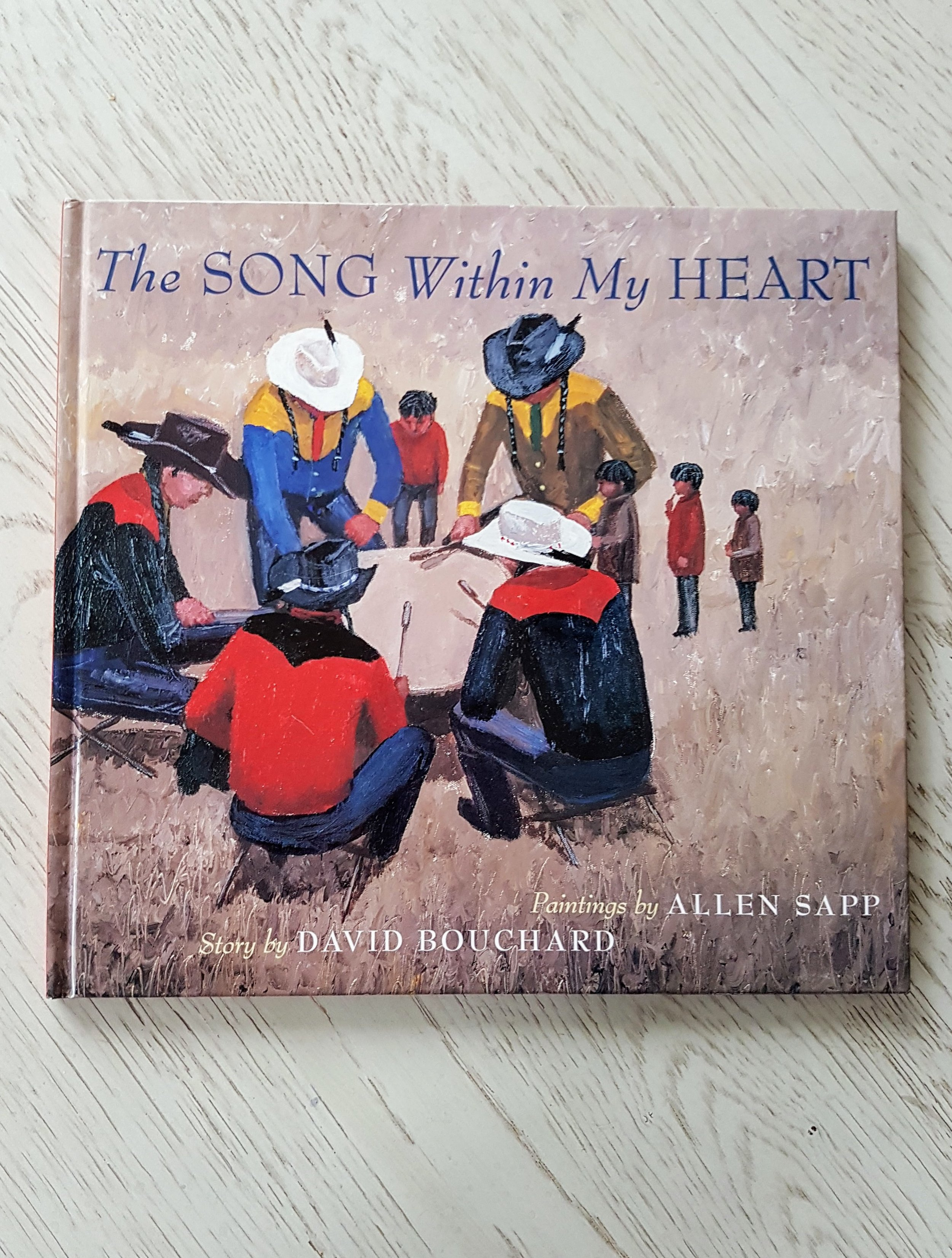 This gorgeous  book  is illustrated by Allen Sapp, a Canadian icon, and follows a boy whose grandmother helps him discover his Aboriginal roots.