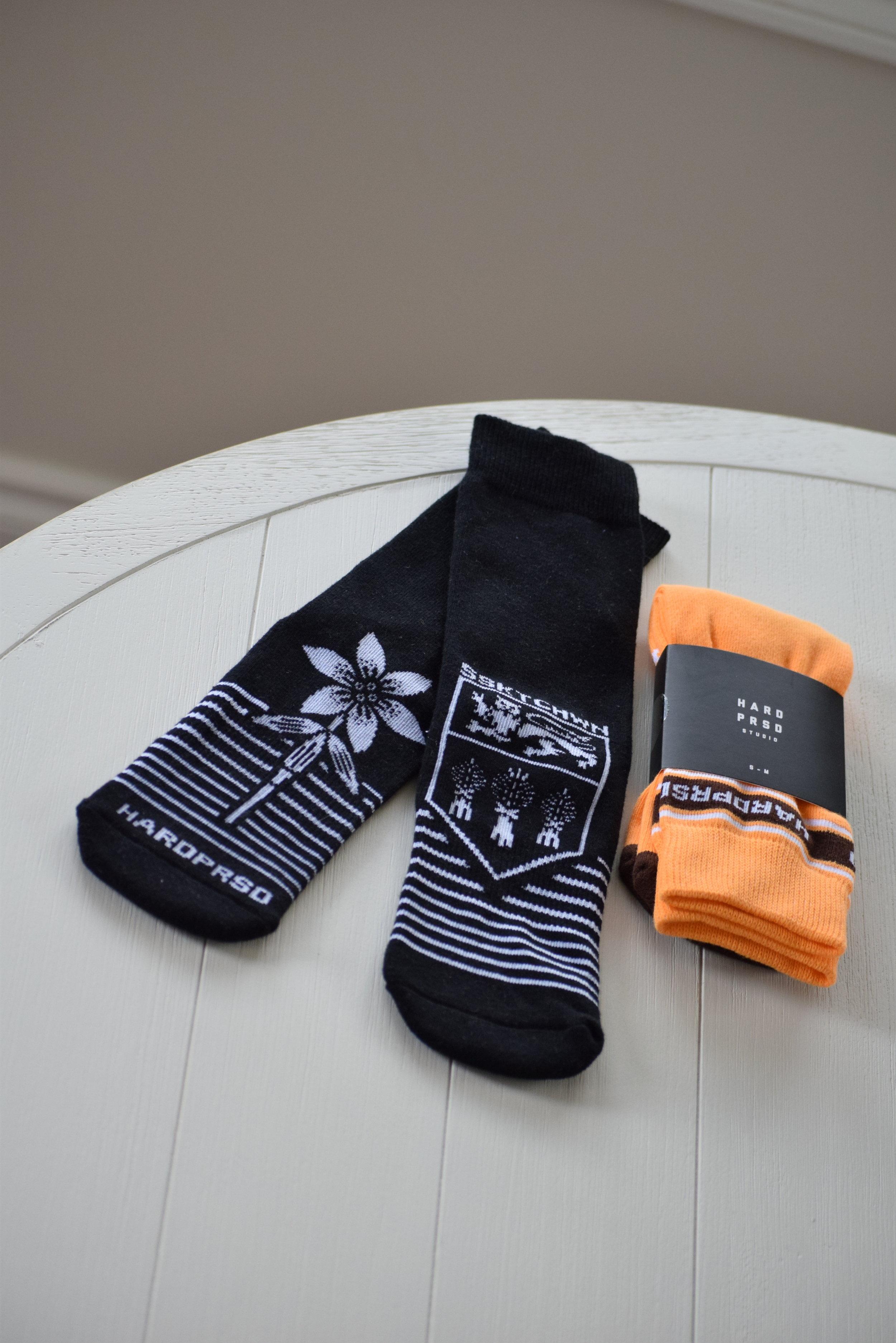 saskatchewan socks hardpressed