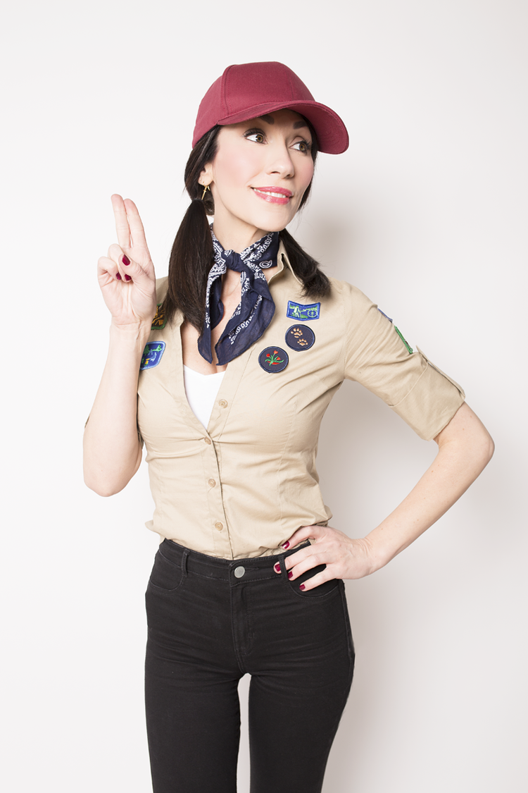 easy halloween costume boyscout