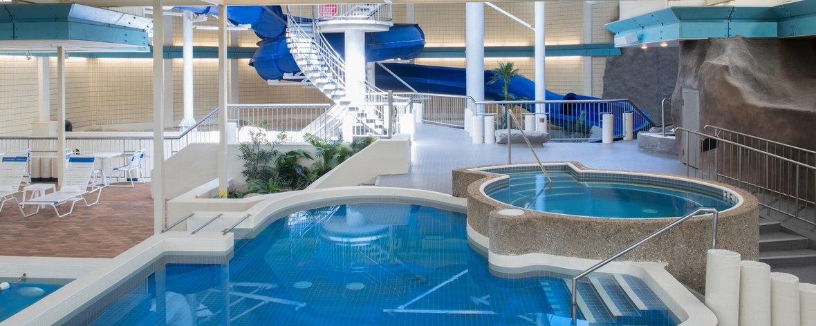 sheraton saskatoon hotel waterslide and pool.jpg