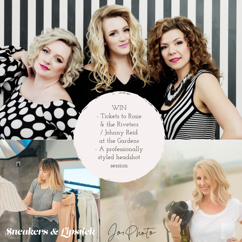 Speaking of JazzFest, I've got a contest on the go for a pair of tickets to Rosie and the Riveters PLUS a styled photoshoot with Joi Photography. Click on through to enter now!