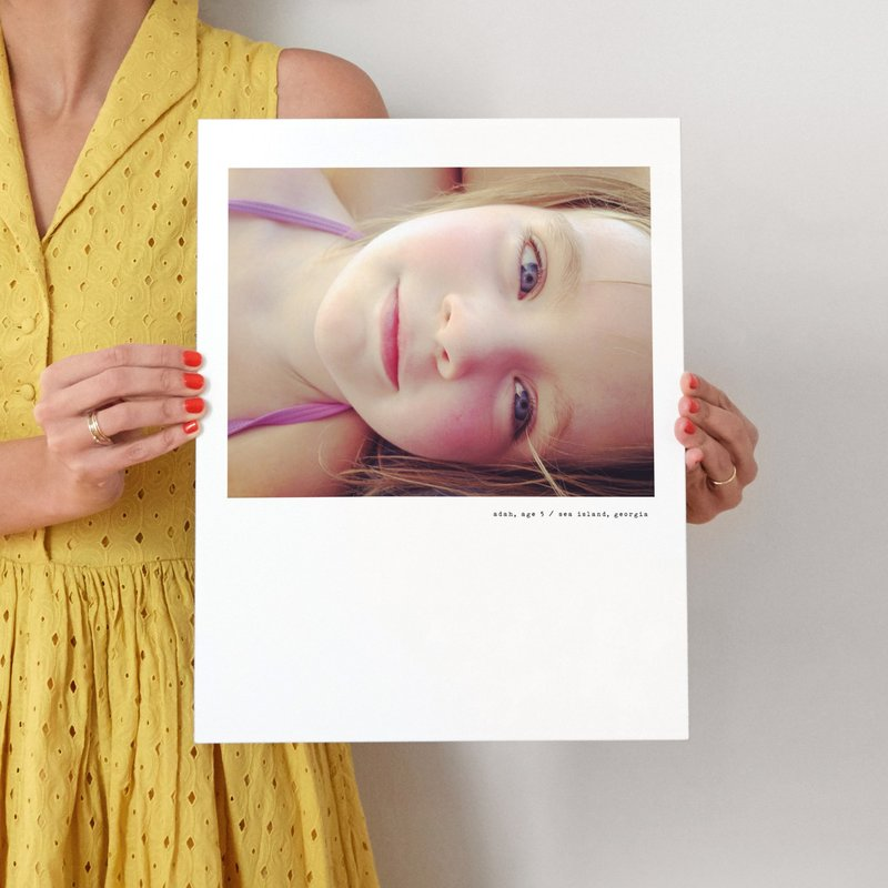 Simple Type Wall Photo Print,  Minted.com