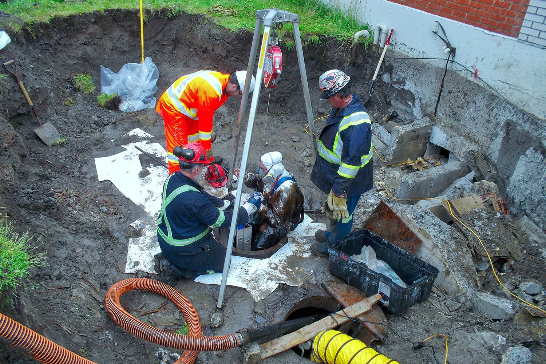 Réhabilitation environnementale des sols par excavation d'un site industriel à Québec