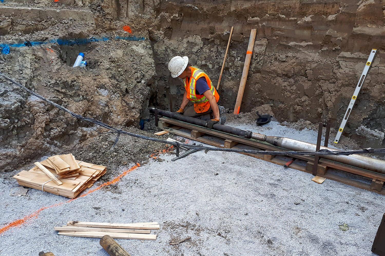 Caractérisation environnementale d'un site appartenant à un particulier à Saint-Hyacinthe