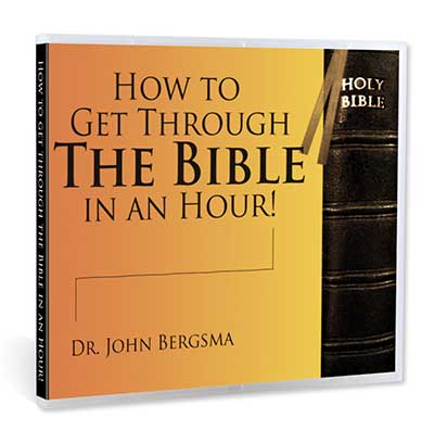 How to Get Through the Bible in an Hour!