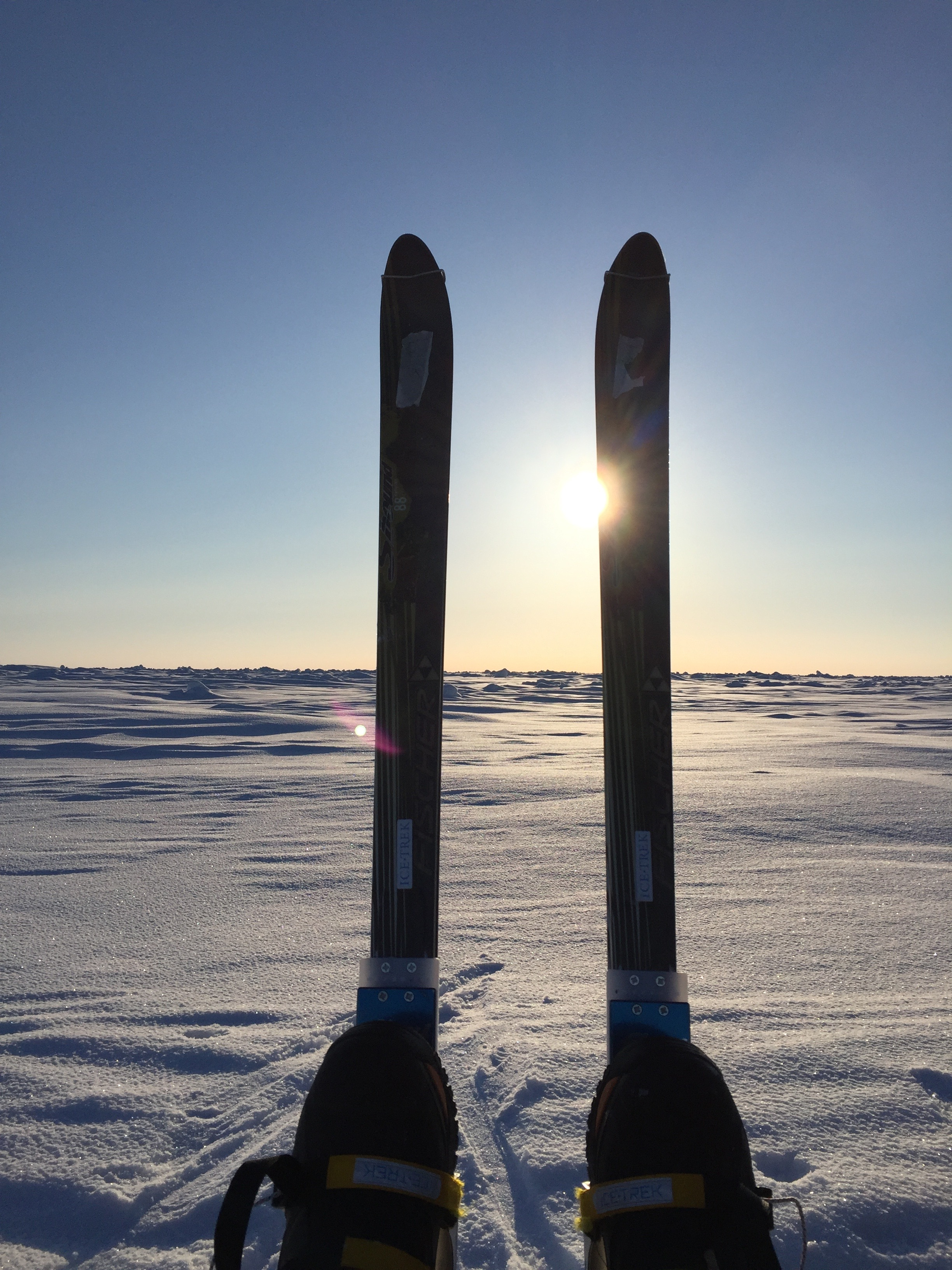 Your logo on my skis. See below for more details.