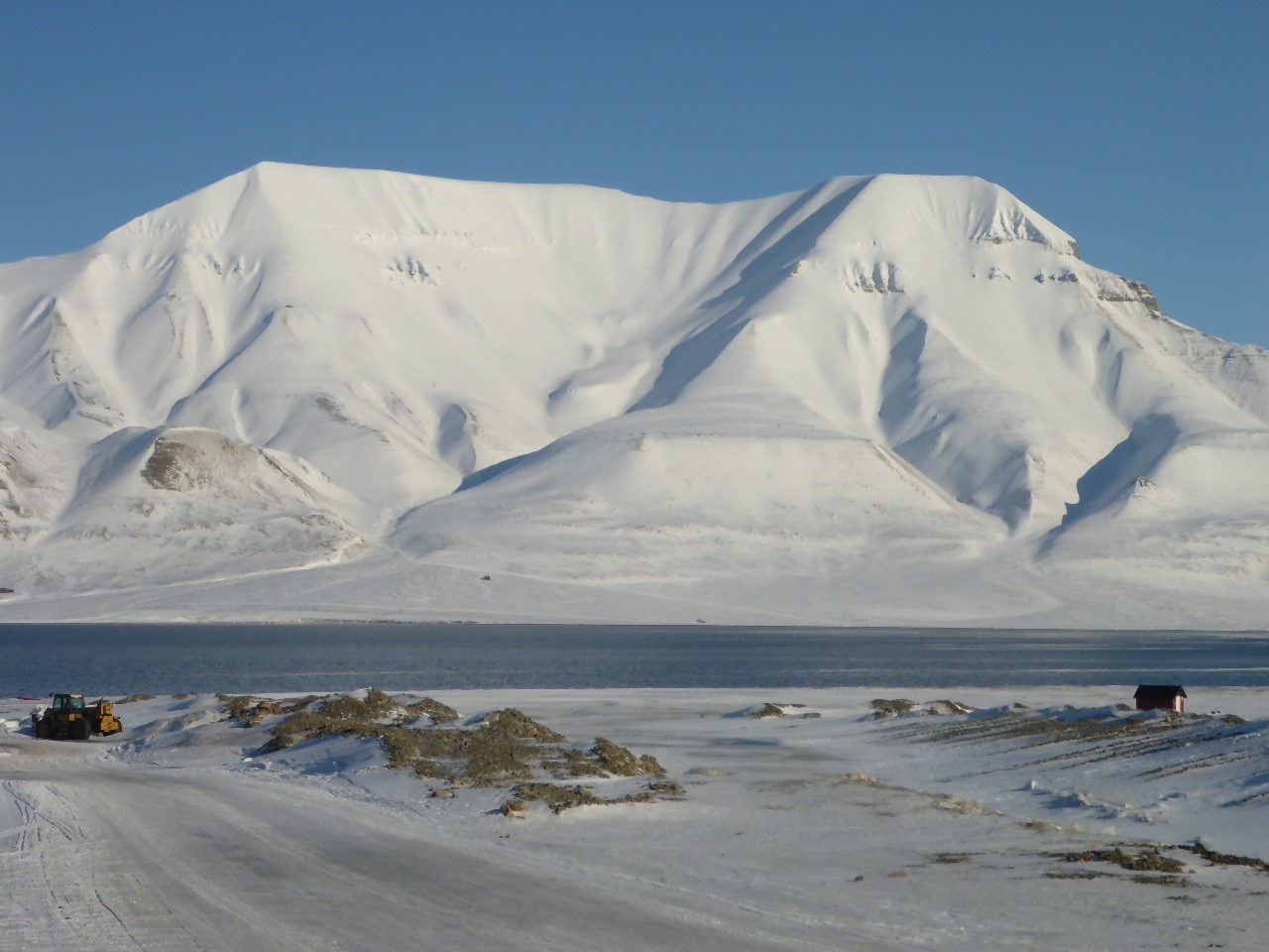 Longyearbyen on the island of Svalbard, the spiritual start point of your last degree ski.