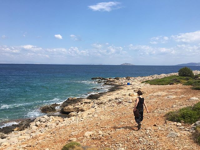 Last day in the Peloponnese before   Athens   Aegina. Place, people, art - more than the sum of it's parts.