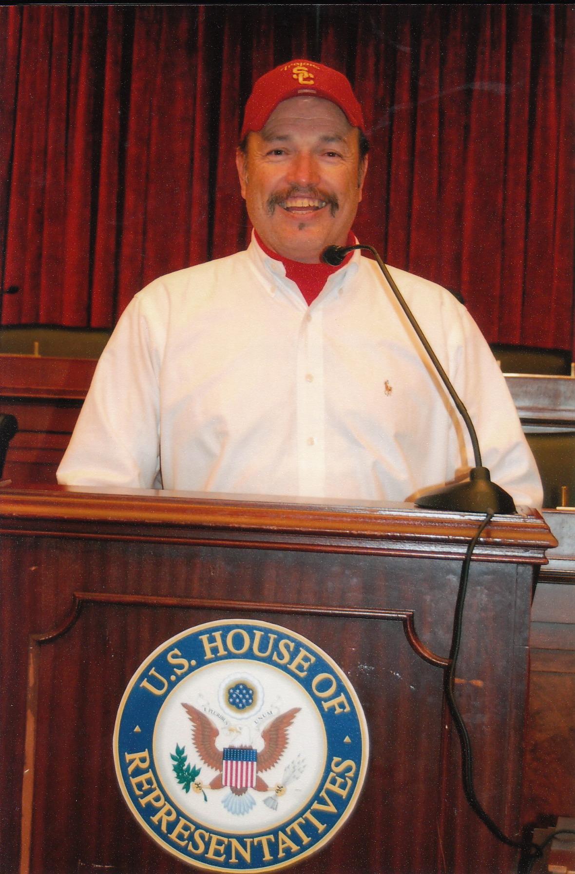 Tony in the U.S. House of Representatives