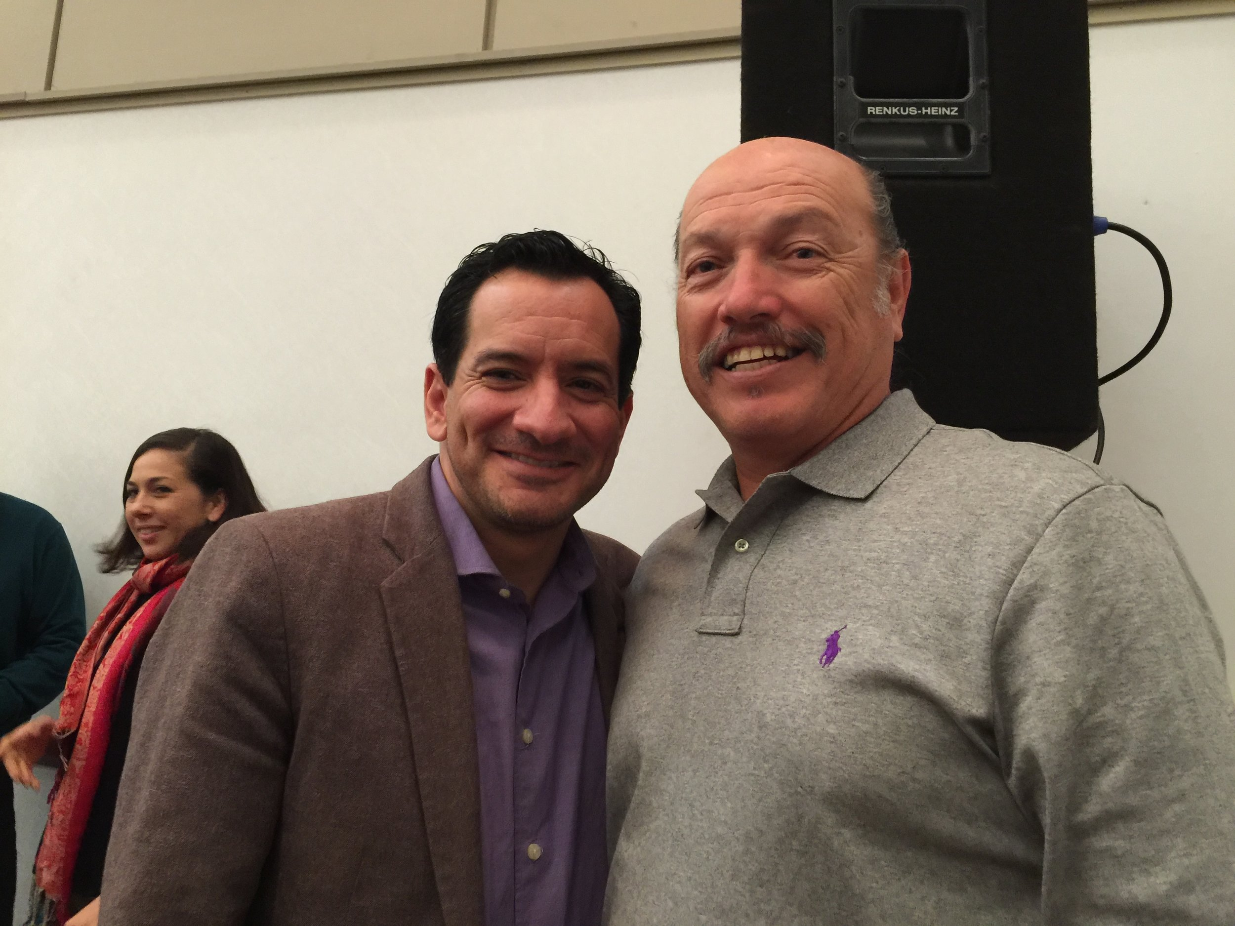 Tony with Speaker of the Assembly Anthony Rendon