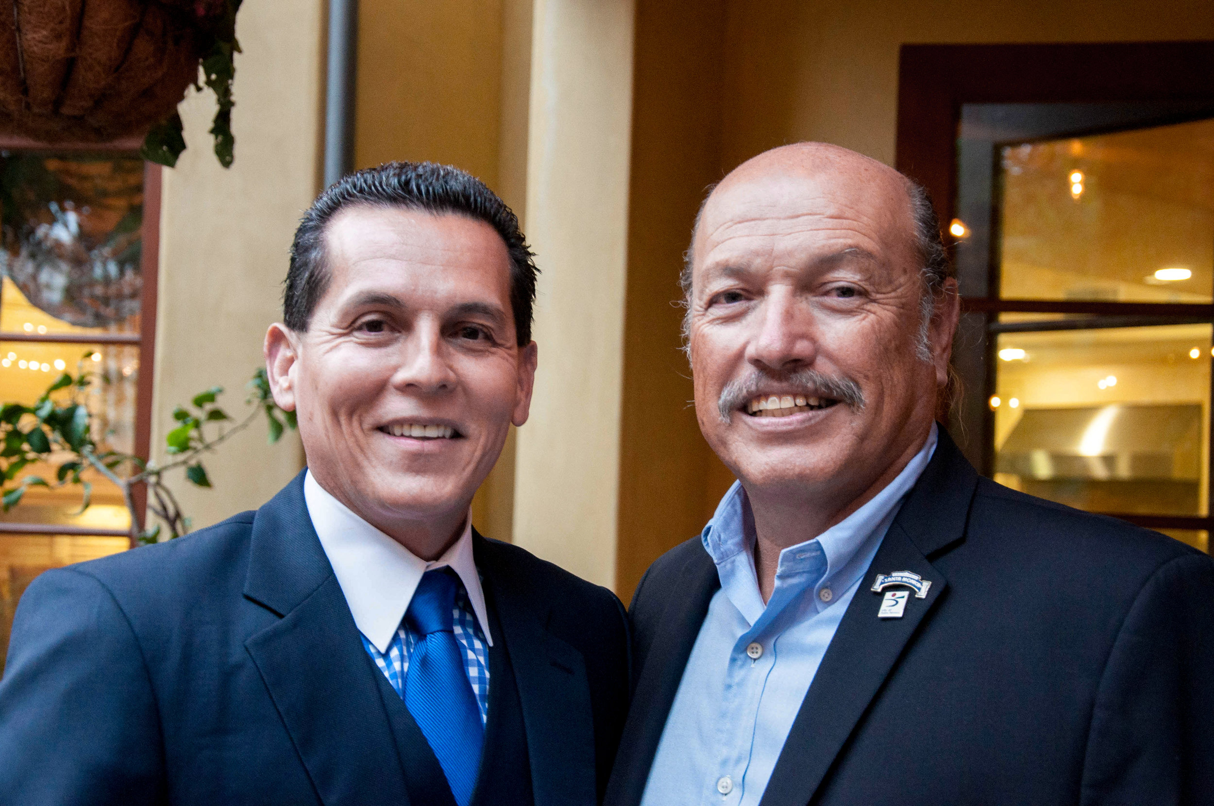MABA President Felipe Plascencia and Tony at a past fundraiser.