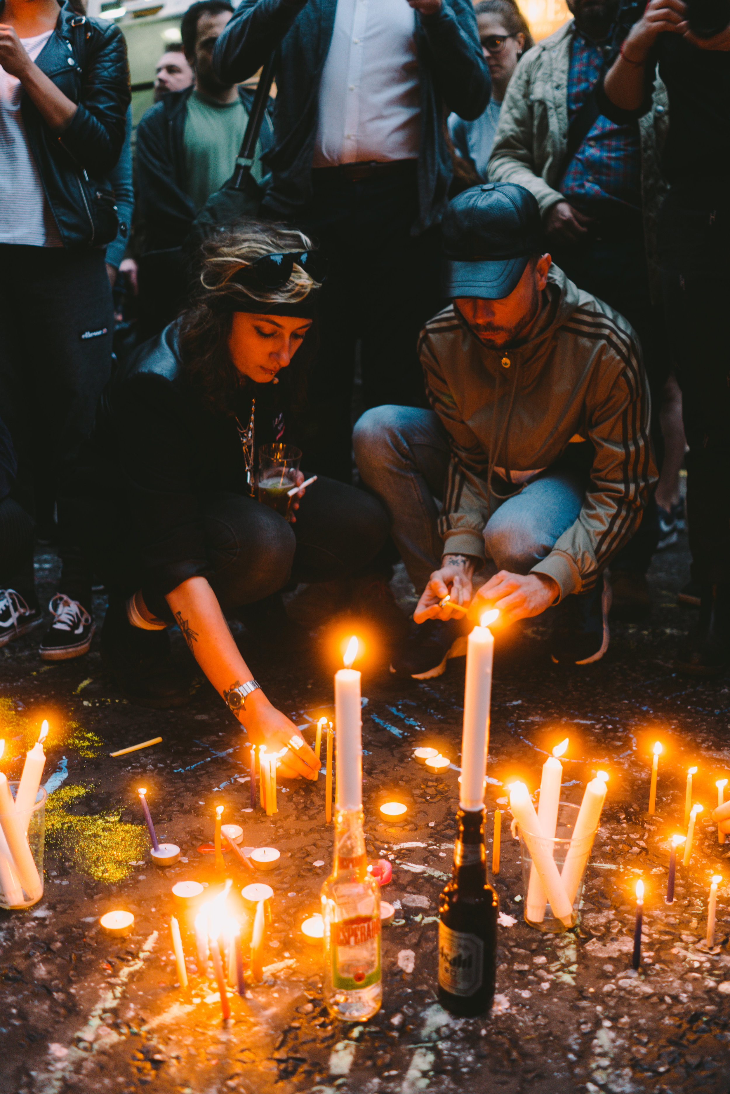Taken at the Orlando Vigil on Old Compton Street in Soho, London on the 13 June 2016.