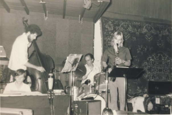 Angles at Uncle Albert's, Tempe AZ, February or March 1975. Steve Huff (piano), Jon Lane (bass), Keith Miles (drums), and Allan Chase (alto saxophone).