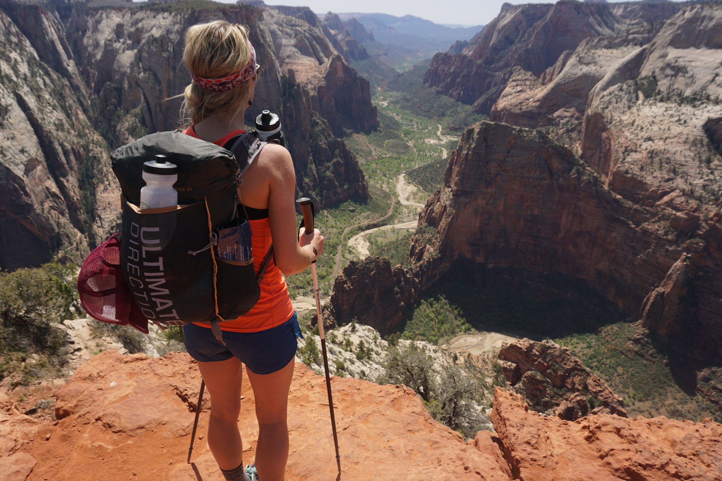 Fastpacking through Zion National Park, UT