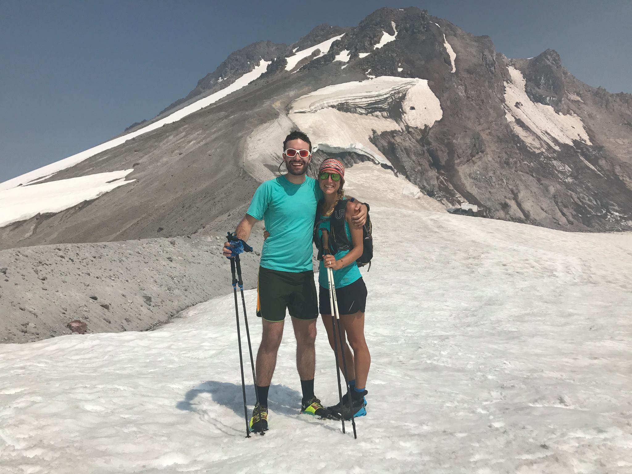 Climbing Glacier Peak, WA (in a single push)
